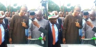 Nigerians Troll OKECHUKWU ENELAMAH, A Nigerian Minister for Commissioning a Gutter