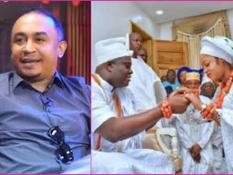 As Expected, Daddy Freeze React To Wedding of Ooni of Ife and Prophetess Naomi Oluwaseyi