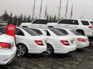 EFCC Raids Popular Astrax Autos in Lagos, Seizes 29 Exotic Cars