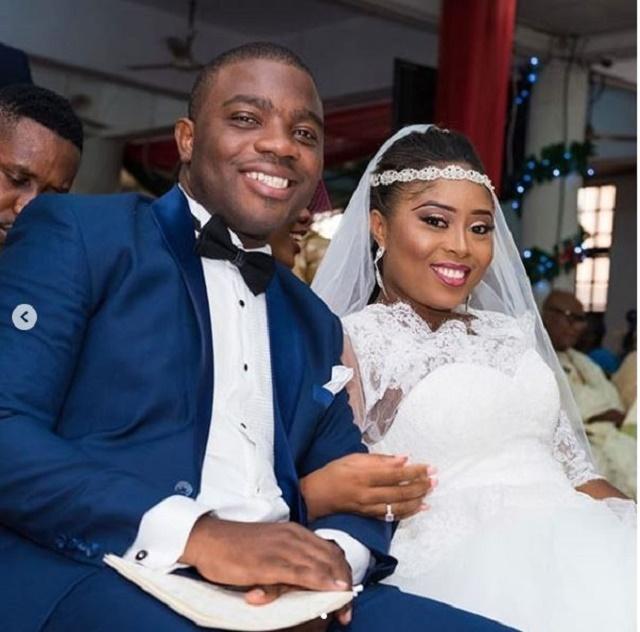 Child Star, Benita Okojie and Husband Celebrate 2nd Wedding Anniversary