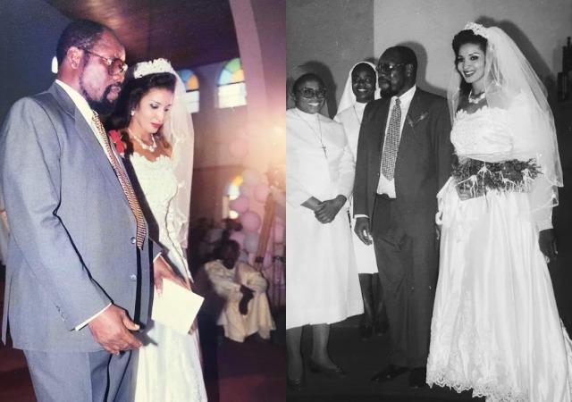 Bianca Ojukwu Shares Exceptional Wedding Photos as She Marks '24th' Wedding Anniversary [photos]
