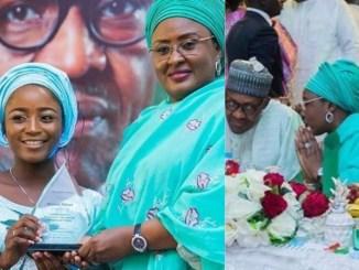 Aisha Buhari Hosts Artistes Rooting For President Buhari [Photos]