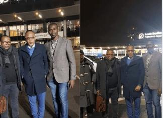 Photos of IPOB Messiah, Nnamdi Kanu, As He Arrives London