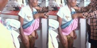 Woman Caught After Hiding Stolen Item In Between Her Legs in a Supermarket [Photos]