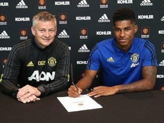 Manchester United Tie Marcus Rashford to A New Deal Till 2023 [Photos]