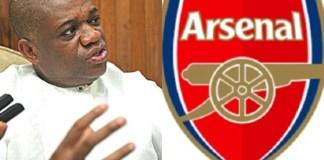 Orji Uzor Kalu Set to Buy 35% Stake at Arsenal Football Club