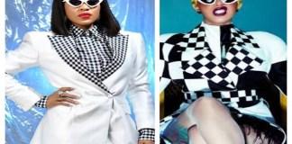 Moments Cardi B Comments on BB Naija's Erica Dressing