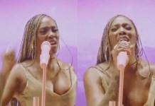 Tiwa Savage Promotes End SARS Protest at MOBO Awards (Video)