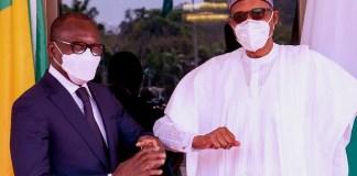 Buhari Meets Benin Republic President in Aso Rock