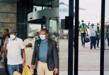 Asiwaju Bola Tinubu Returns to Nigeria [photos]