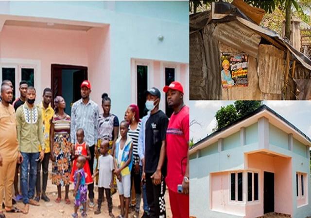 Anambra Philanthropist, Arnold Chukwuebuka Builds 2-Bedroom Bungalow for Widow