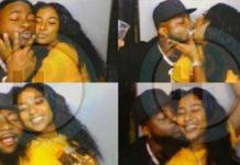 Nigerians React as Davido Was Spotted Kissing New Girlfriend Mya Yafai