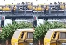 Nigerians Stop Man from Killing Himself along Jibowu Bridge in Lagos [Video]