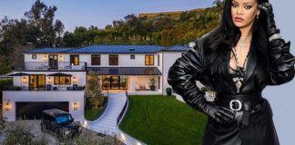 Rihanna Displays her New $13.8Million Beverly Hills Mansion