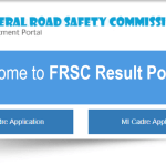 FRSC Result Checker | Login to Check Screening Results
