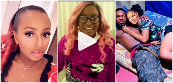 Private Photos Of Broda Shaggi And DJ Cuppy Surfaces (Video)
