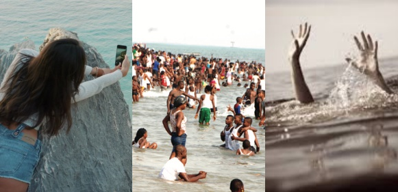 Image result for Young man drowns in Port Harcourt beach while his friend filmed