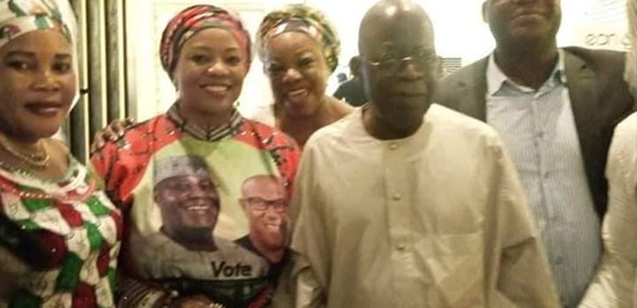 'Atikulated Nigerians' –Tinubu Poses With PDP Members In Lagos, After Allegedly Throwing Away An APC Flag At Presidential Rally  2019:  This Is So Unbelievable – Unexpected Betrayal? Tinubu Caught In The Very Act, gistreel tile 5