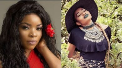 Laura Ikeji says she is not friends with her brother-in-law's wife, Amara Kanu