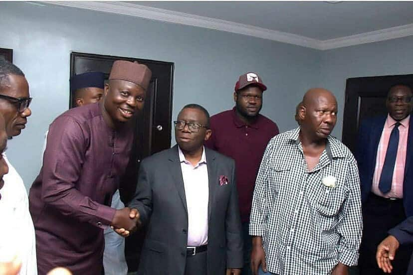 5c9106c9e692e 1 - [Pictures]: Minister For Health, Prof. Isaac Adewole, Hosts Baba Suwe
