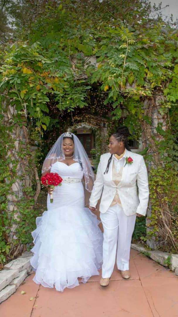 Nigerian Lady Marries Her Lesbian Partner -See Photos From The Wedding