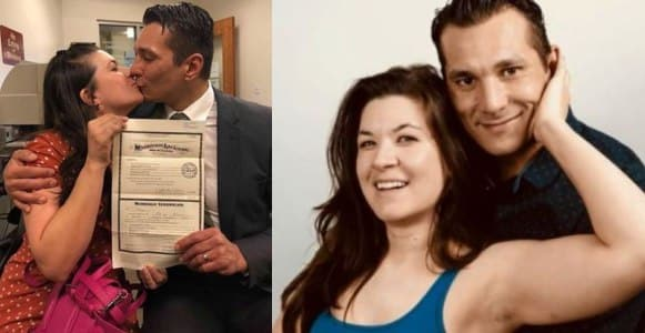 Cousins legally tie the knot in the U.S