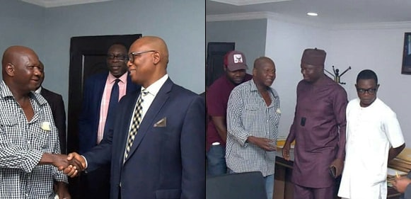gistreel.com  110 - [Pictures]: Minister For Health, Prof. Isaac Adewole, Hosts Baba Suwe