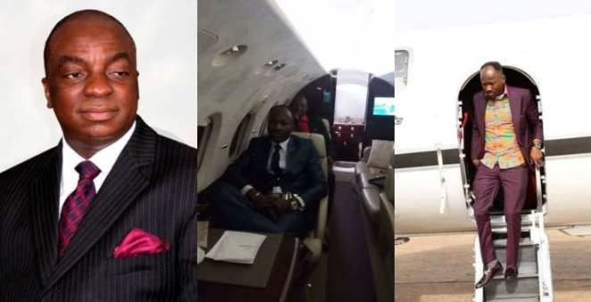 Bishop Oyedepo Speaks On Apostle Suleman's Private Jet