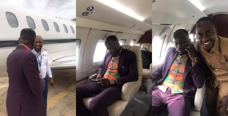 Church members cheer as Apostle Suleman acquires private jet (Video)