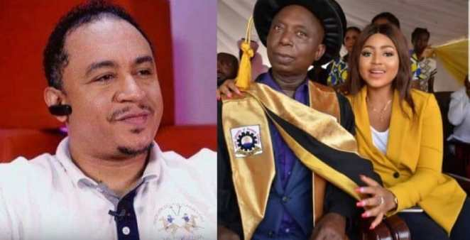 Daddy Freeze reacts to Regina Daniels' marriage to Ned Nwoko