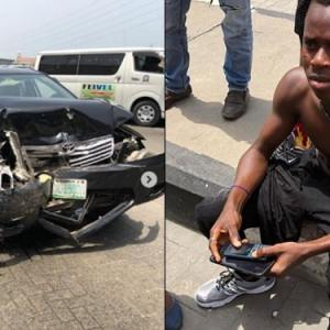 'Life has rendered me carless'- Instagram comedian Funny Toheeb laments after surviving fatal accident