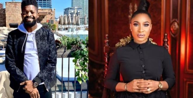Basketmouth reacts to Tonto Dikeh's latest outburst against ex-husband