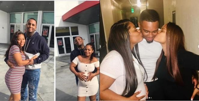 Man impregnates twin sisters, shares happy photos