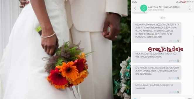 Deeper Life Church suspends couple's marriage for eating from same plate