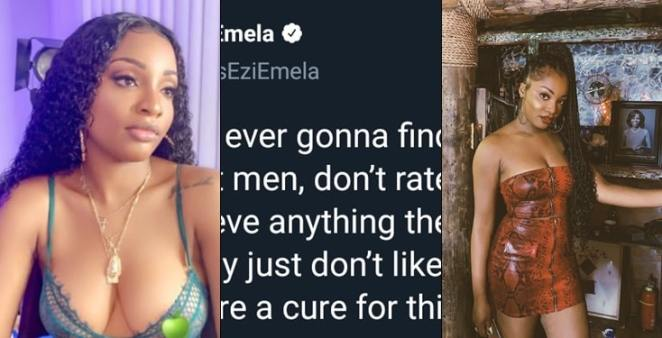 Nigerian lady wonders how she's ever going to find a guy