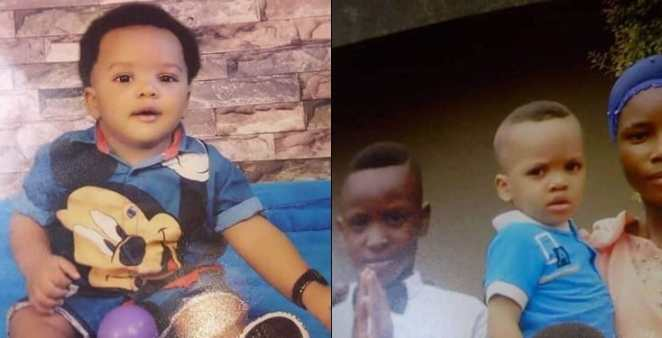 1 year 8 months old boy stolen from Catholic Church by unknown woman