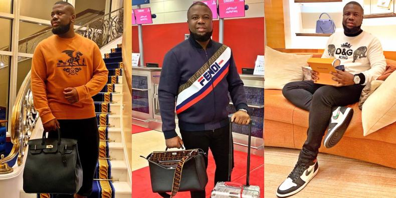Hushpuppi speaks on his beef with Mompha & why he doesn't wear jewelry
