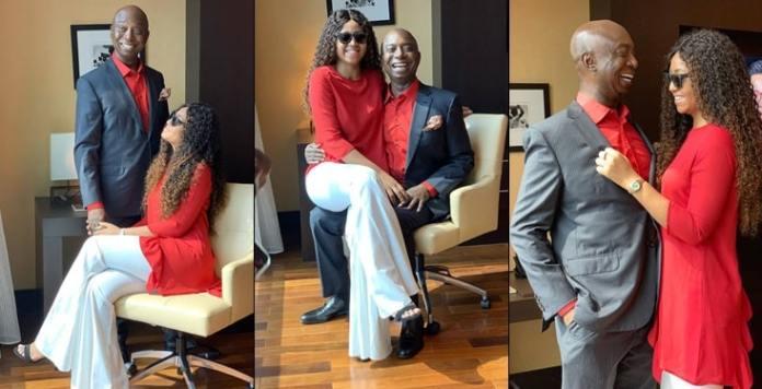 Regina Daniels shares photos with Ned Nwoko