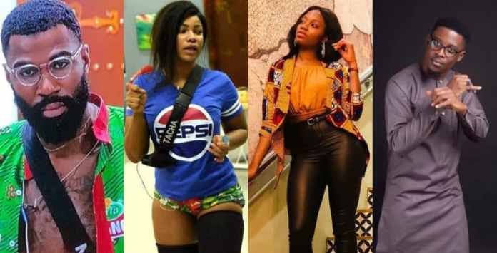 BBNaija: Tacha, Khafi, Mike and Seyi are nominated for eviction
