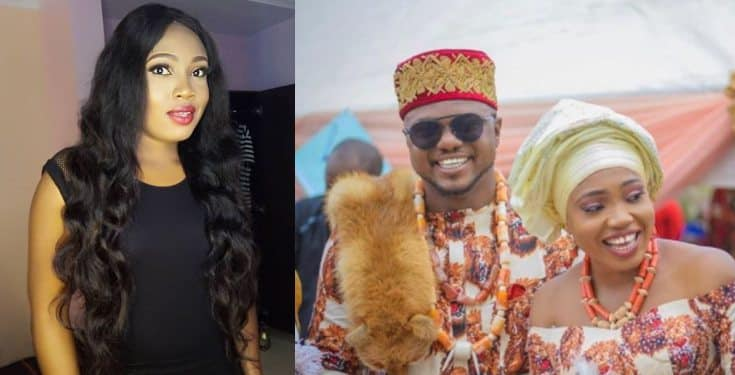 Ken Eric's ex wife, Onyin says he never slept with her before or during the marriage