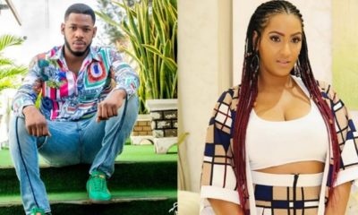 BBNaija Update: Frodd spotted kissing Actress Juliet Ibrahim at an event