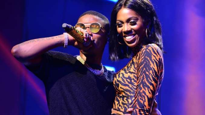Tiwa Savage Opens Up Relationship With Wizkid (Video)