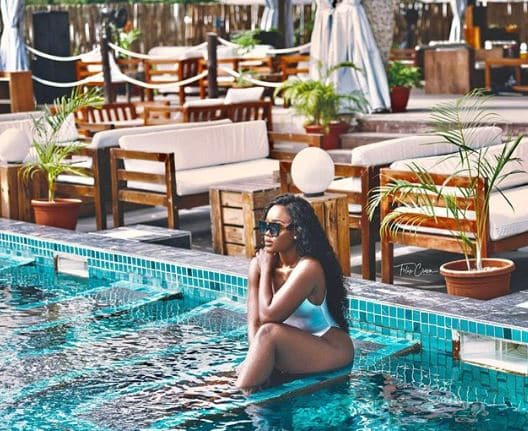 Cee-C flaunts her curves in new swimsuit photos 4