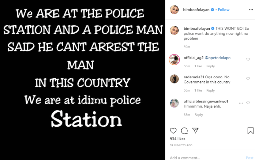 Bimbo Afolayan