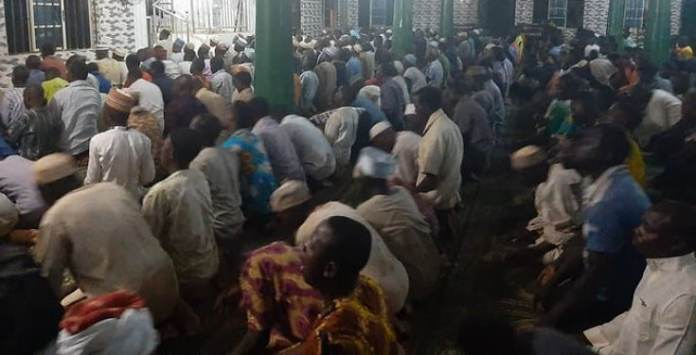 300 angry Muslims observing their prayers at Agege Central Mosque attack Lagos state govt Coronavirus taskforce
