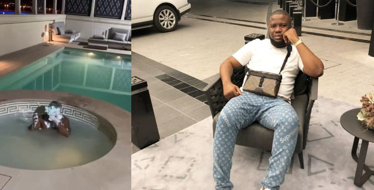 'My quarantine & your quarantine are not mates' – Ray Hushpuppi, brags (video)