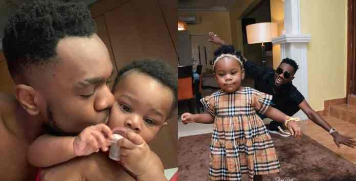 Patoranking shares new loved up photo with his daughter, Wilmer
