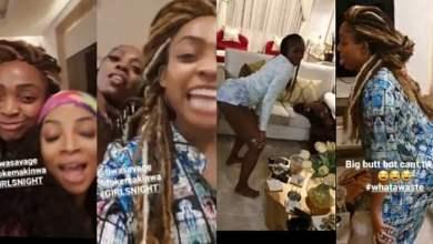 Tiwa Savage, Toke Makinwa And Davido's Sister, Sharon