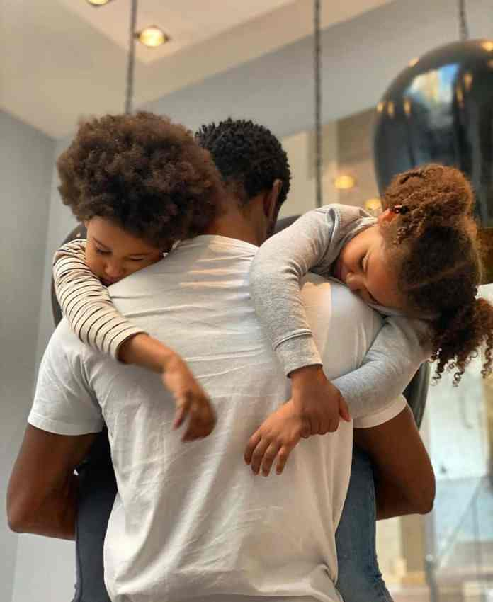 """At the end of the day, that's all that matters"" - Mikel Obi shows off beautiful twin daughters"