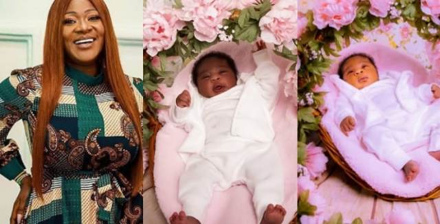 """Our special gift from God"" - Mercy Johnson-Okojie shares beautiful photos of her baby, Divine-Mercy"